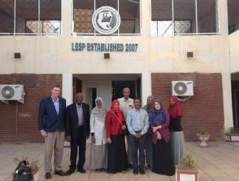 © 2015 AU-IBAR. The AU-IBAR Team at the Ministry of Livestock, Fisheries and Rangelands, Sudan.