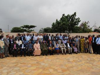 © 2013 AU-IBAR. PACT workshop participants with Honorable Dr. Ahmed Yakubu Alhassan, the Deputy Minister of Food and Agriculture of the Republic of Ghana.
